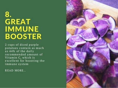 Health Benefits of Eating Purple Potatoes